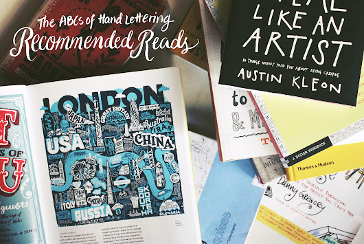 The ABCs of Hand Lettering: Recommended Reads