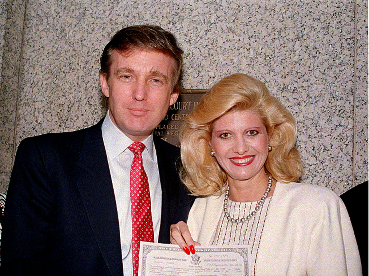 Trump was also notorious for befriending attractive supermodels. His first wife, Ivana, a Czech-American, was a member of the social elite.