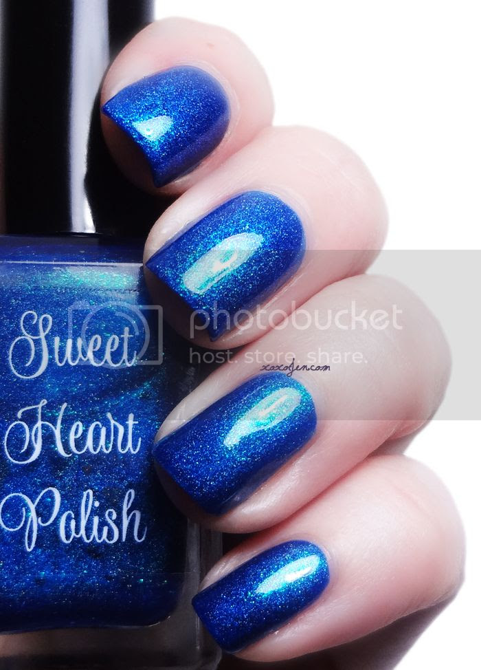 xoxoJen's swatch of Sweet Heart Polish Flipping Your Fins