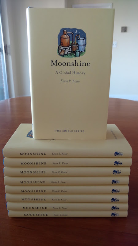 My New Book Moonshine: A Global History Now Is Available