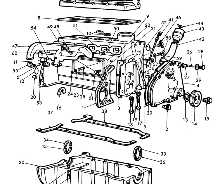 1953 Ford Wiring Diagram