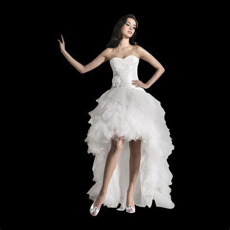 Freya Short Front Long Back Wedding Dress Unique Style