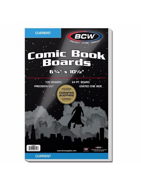 Bcw Current Comic Book Backing Boards