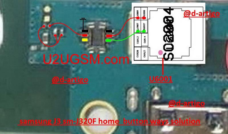 Samsung Galaxy J3 (2016) Home Key Button Not Working Problem Solution Jumper