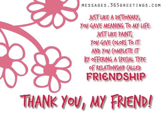 Thank You My Friend Pictures Photos And Images For Facebook