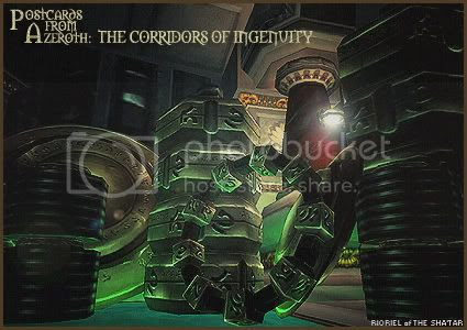Postcards of Azeroth: The Corridors of Ingenuity, by Rioriel Ail'thera