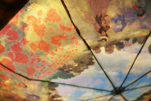 Monet's umbrella # 304