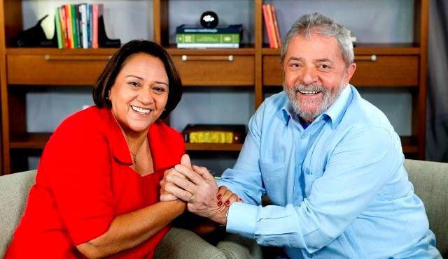Fátima Bezerra diz que PT tirou milhões da pobreza e pede #LulaLivre