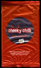Cheeky Chilli Popcorn - sorry about the poor image quality.