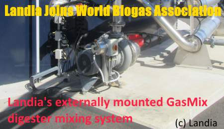 Landia AD Pumps and Mixers Join World Biogas Association