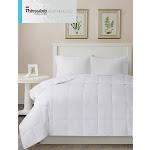 Sleep Philosophy Level 2: Warmer Down-Alternative Comforter, Twin, White