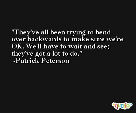Patrick Peterson Quotes At Quotio