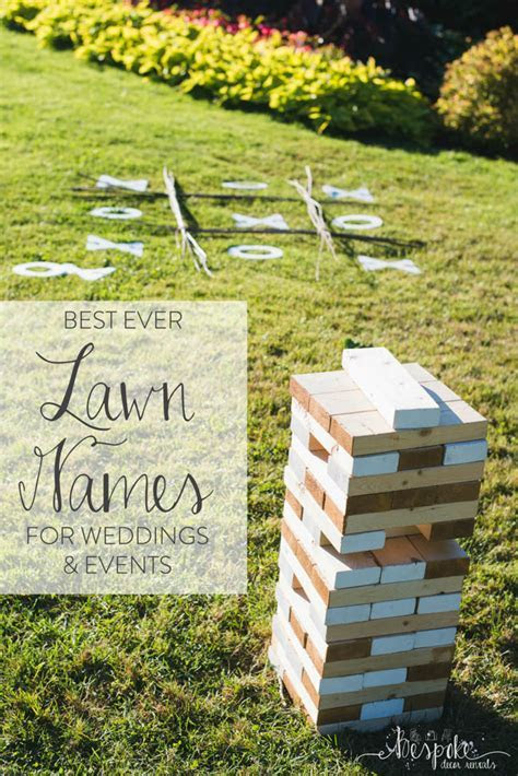 Feature Friday: Lawn Games   Bespoke Decor