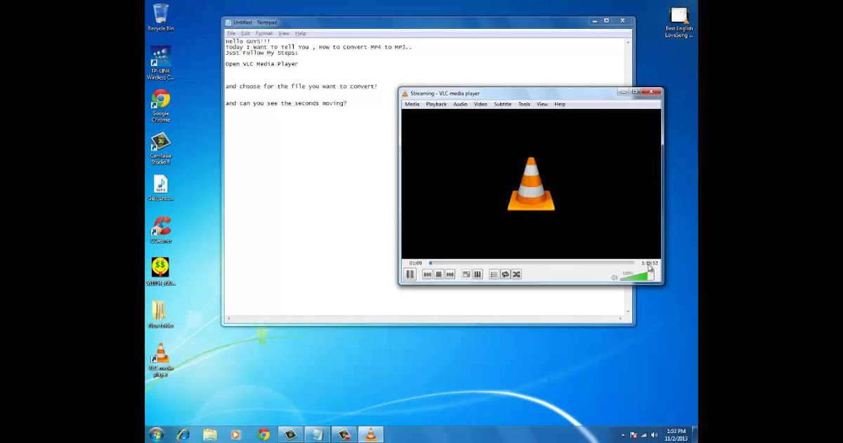 Convert MP4 To MP3 Using VLC Media Player YouTube