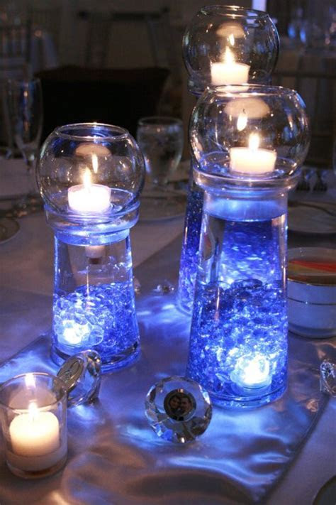 My DIY centerpieces way cheaper than flowers!   Weddingbee