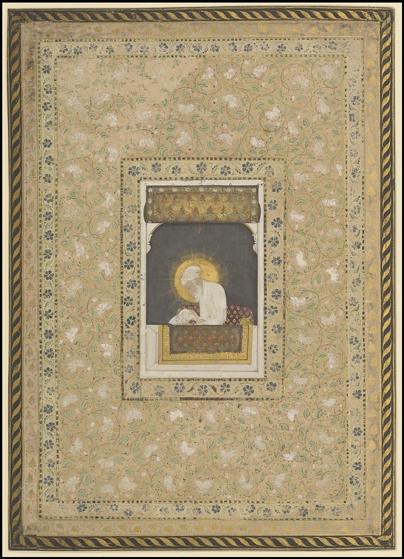 Asian Miniatures - portrait - Arabesque