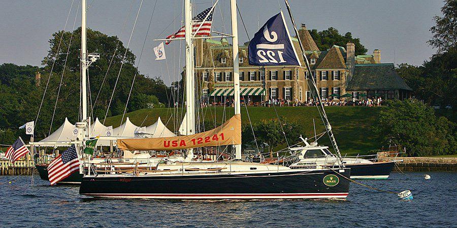 J/122 sailing New York YC Regatta