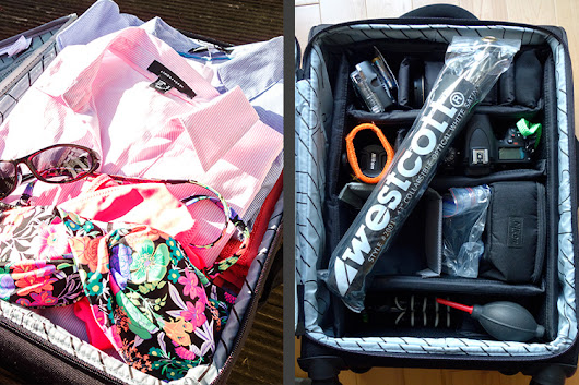 DIY Hack 2-for-1 Luggage and Camera Roller Bag - TCS TECH News