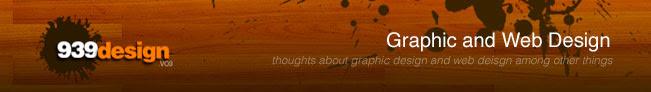939 graphic and web design