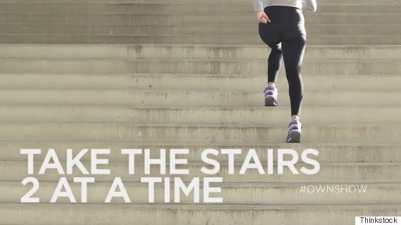 own ownshow 10 minute workout stairs