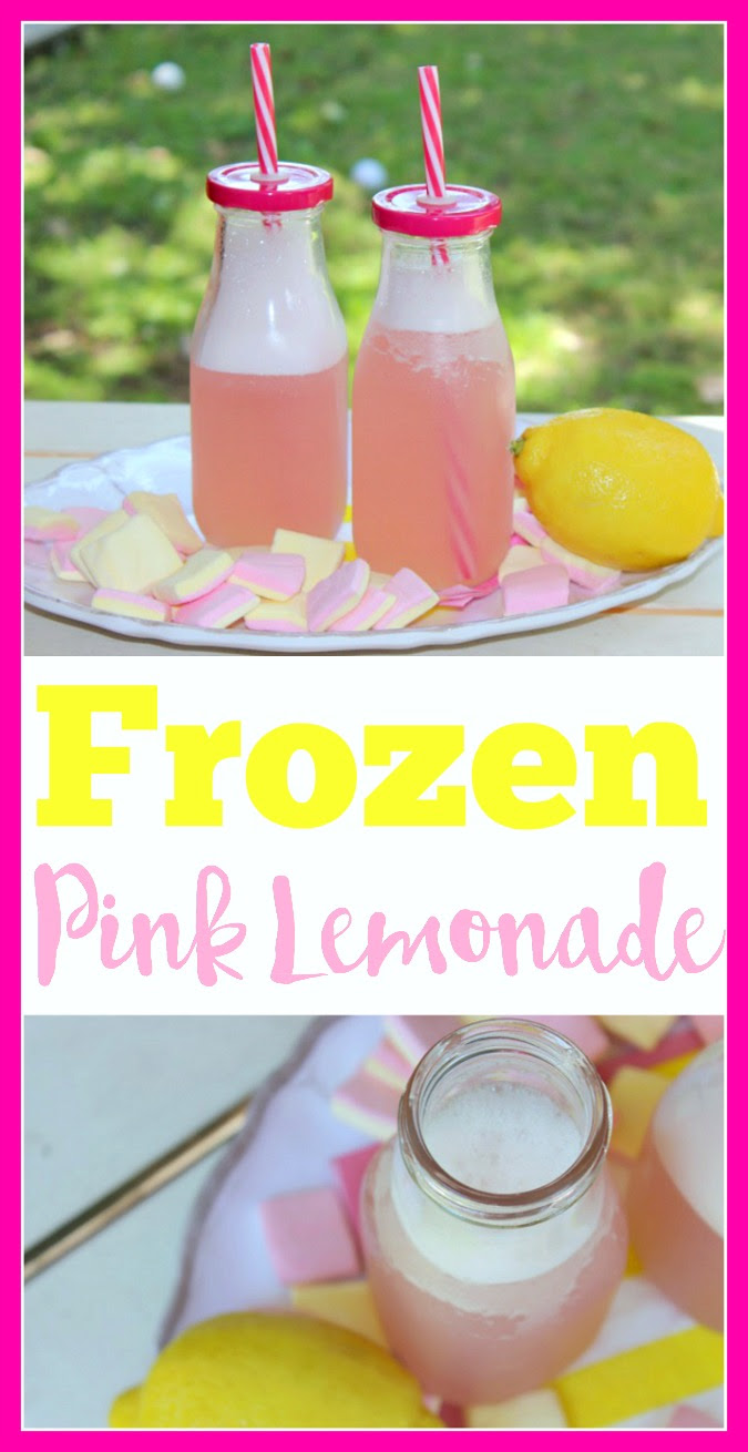 Frozen Pink Lemonade by Logan Can