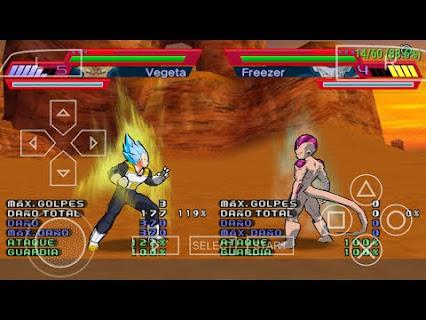 Descargar Dragon Ball Z Shin Budokai 2 Psp Iso