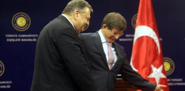 Οι πονηριές των Τούρκων για το ραντεβού Νταβούτογλου - Βενιζέλου στην Αθήνα