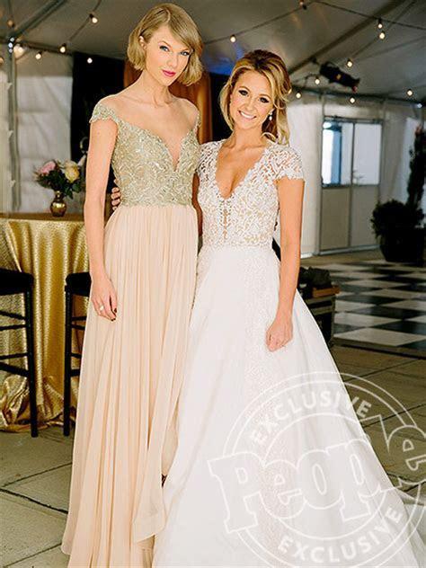 Taylor Swift Attends Best Friend's Wedding : People.com