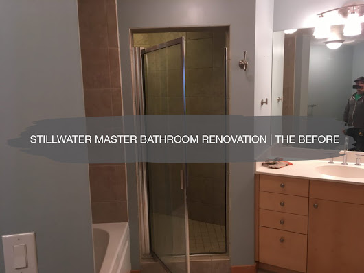 Stillwater Master Bathroom Renovation, The Before | construction2style