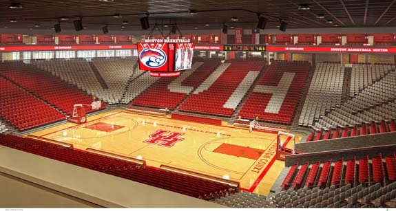 Image result for hofheinz pavilion uh