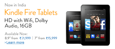 Kindle Fire HD Tablet at Best Price