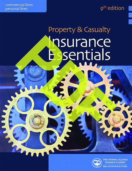 Property & Casualty Insurance Essentials—Digital PDF – The ...