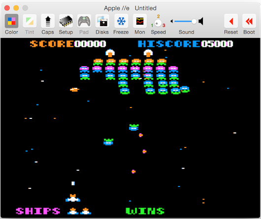 Virtual ][ – Apple II emulator for MacOS version 9.0 has been released