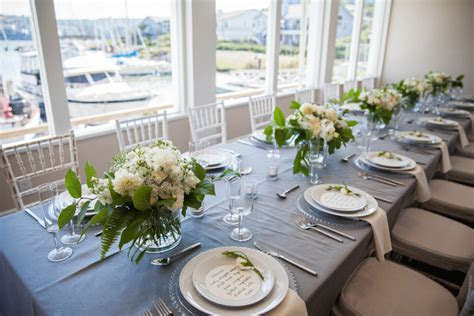 Romantic, Elegant Gray & Blue Nautical Wedding