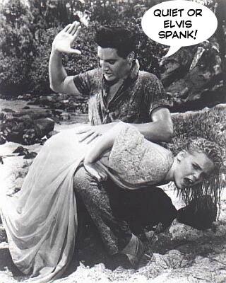 Elvis spank