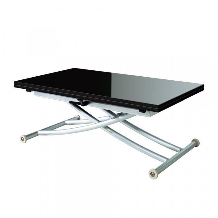 table et chaises de terrasse table basse relevable fly. Black Bedroom Furniture Sets. Home Design Ideas