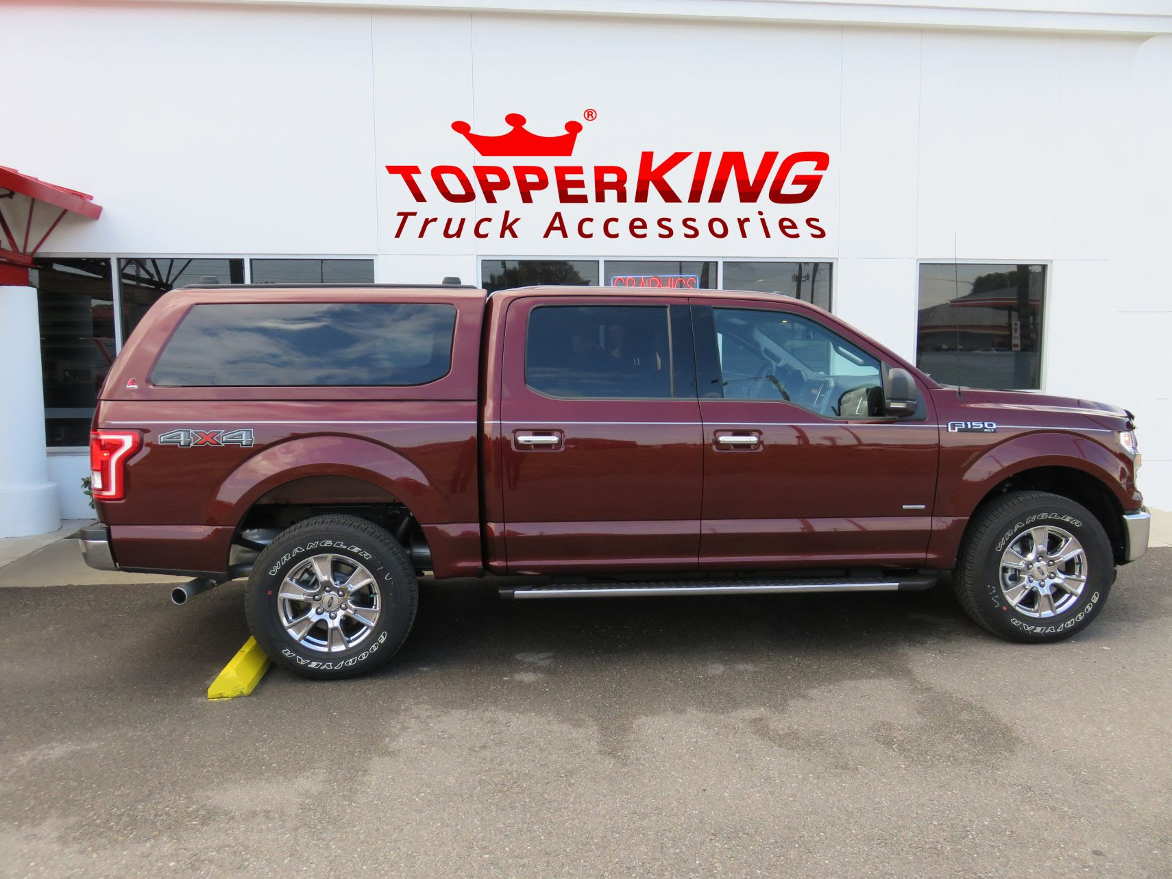 Ruby Red F150 Ready For Work Or Play Topperking