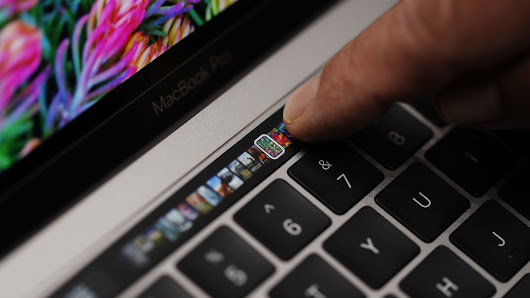 The MacBook Pro's new Touch Bar brings macros to the masses