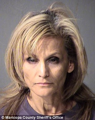Delia Mary Flores, 53, shot her boyfriend in the genitals on Saturday because she suspected he was having an affair