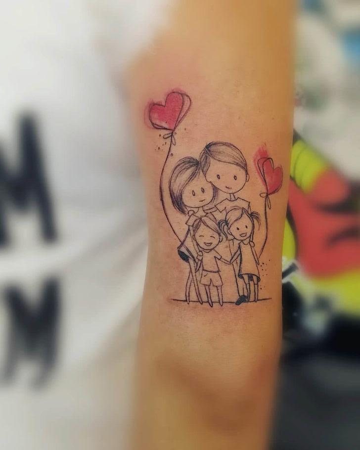 Happy Family Tattoo Best Tattoo Ideas Gallery