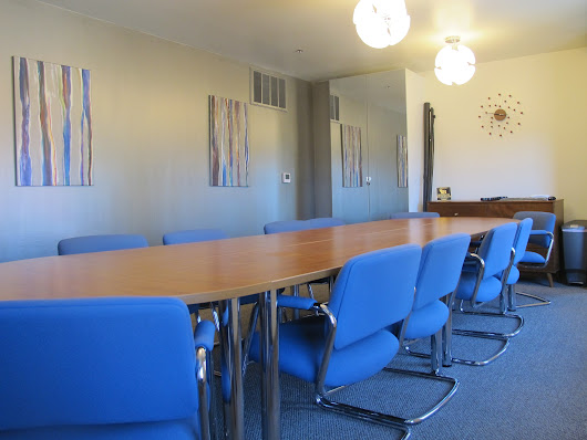 Our boardroom has everything you need to host your workshop - My Other Office in Burbank