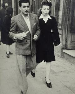 Rafael Gómez y Florence en 1949