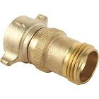 "Camco Water Pressure Regulator, Brass, 3/4"""