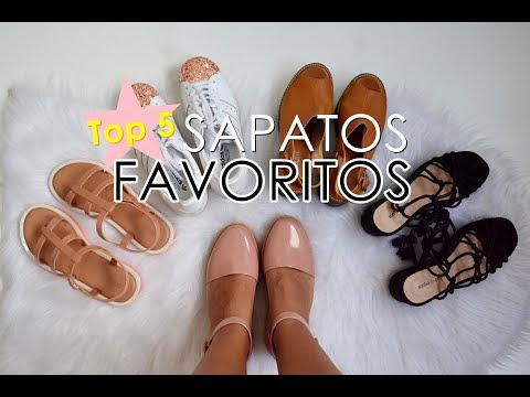 Top 5: Sapatos favoritos ♥