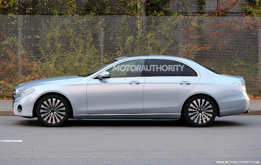 2017 Mercedes-Benz E-Class Spy Shots And Video