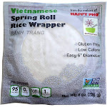 Star Anise Foods Rice Wrapper, Spring Roll - 8 oz - Pack of 12