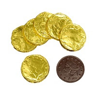Allergy-Friendly Chocolate Coins