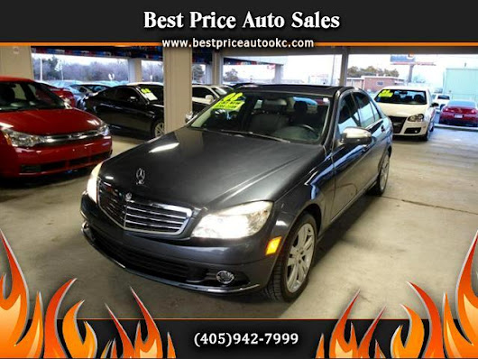 Used 2008 Mercedes-Benz C-Class for Sale in Oklahoma City OK 73112 Best Price Auto Sales