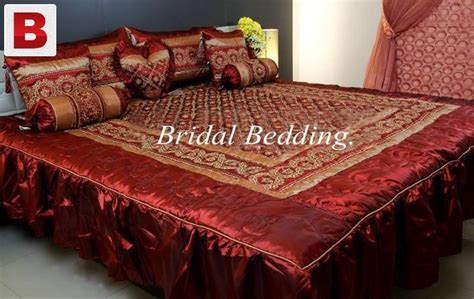Bridal fancy bed sheets   Karachi