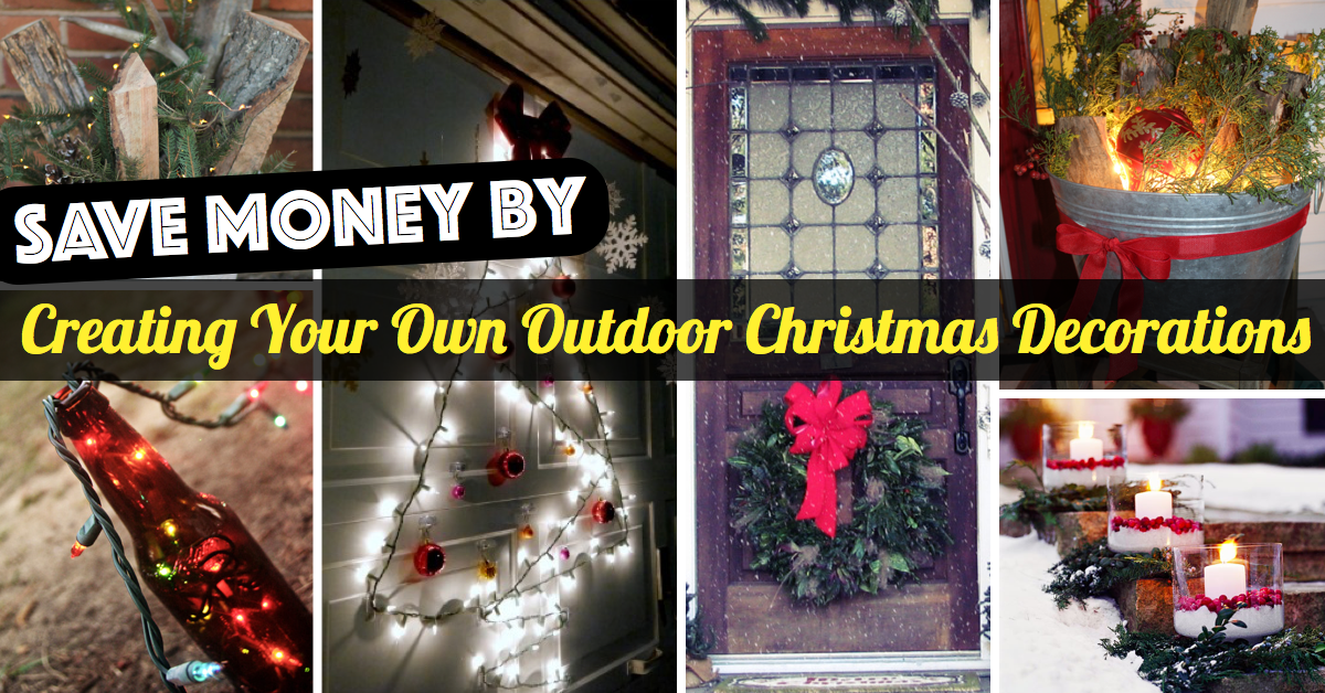 Creating Your Own Outdoor Christmas Decorations – Cute DIY Projects